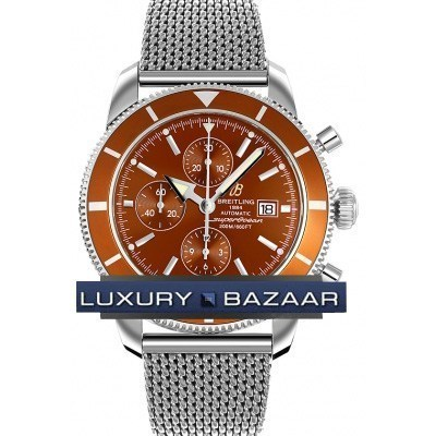 Superocean Heritage chronograph a1332033/q553-ss