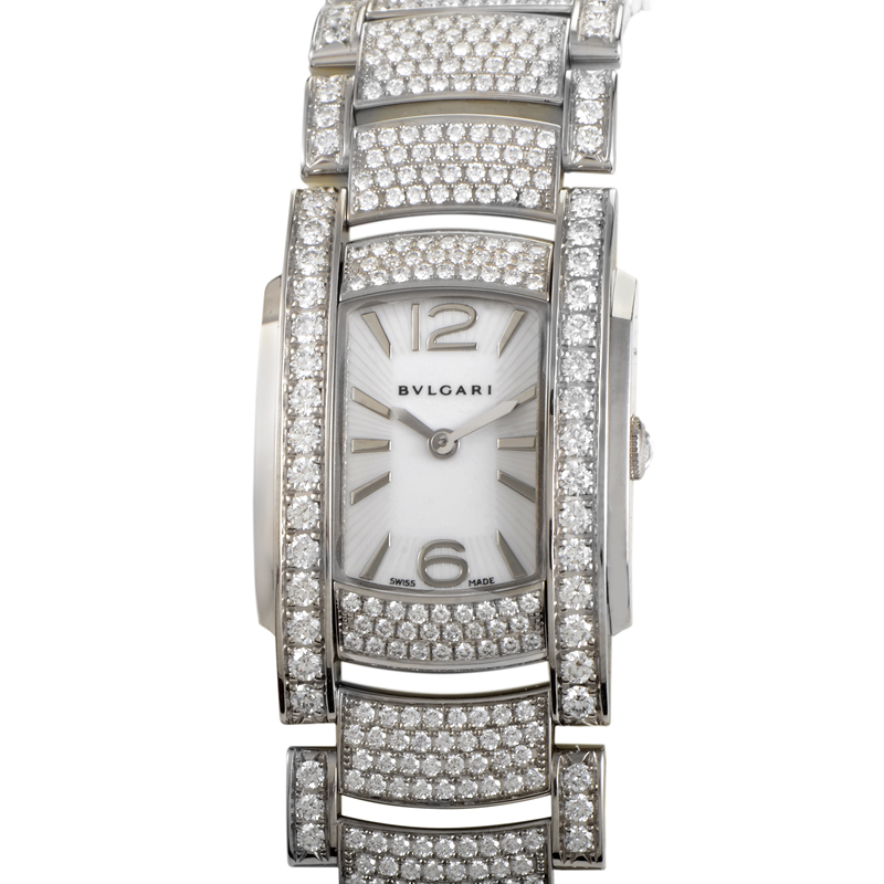 ASSIOMA D Diamonds Womens Quartz Watch AAW31WGD2GD2