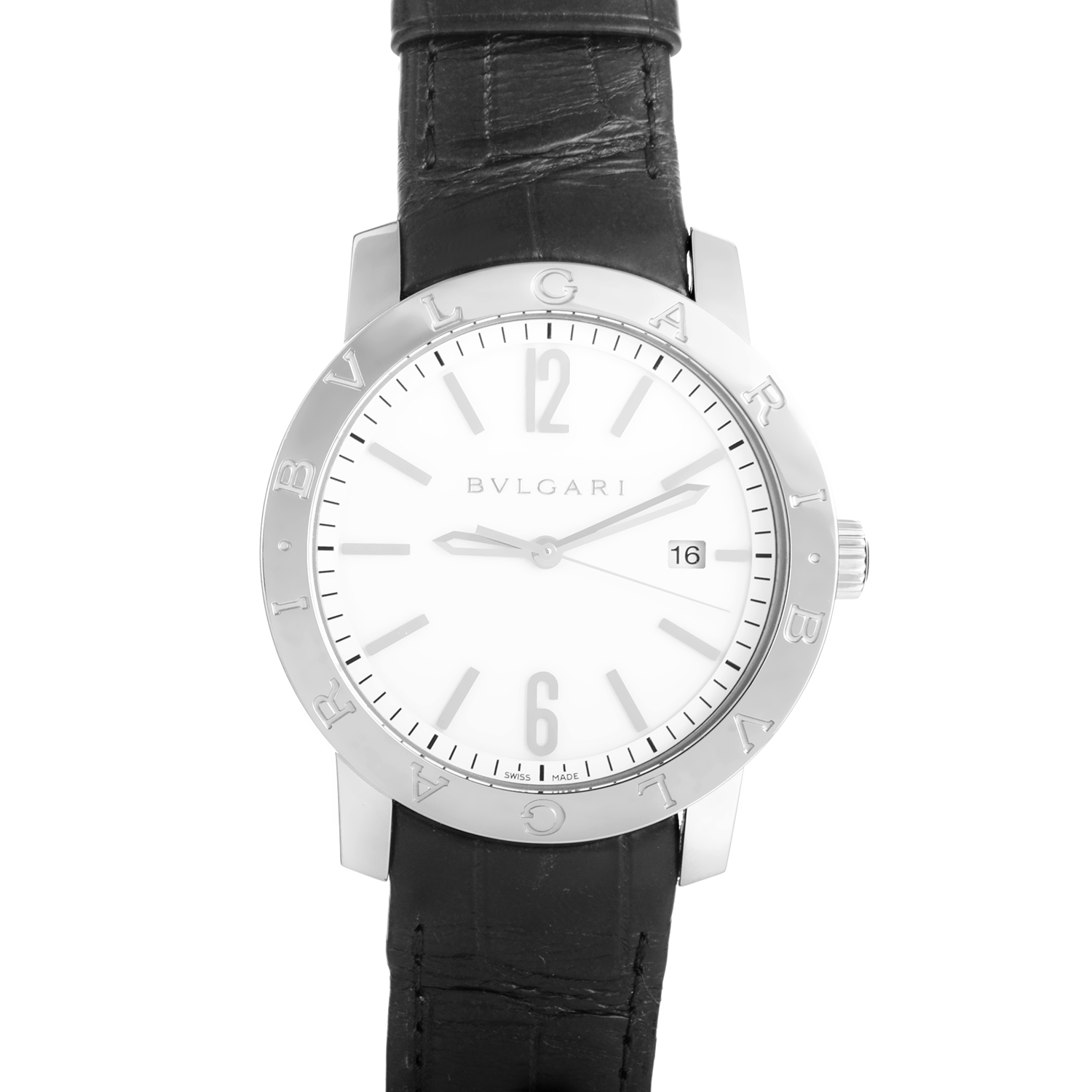 BVLGARI BVLGARI Stainless Steel Wristwatch BB41WSLD