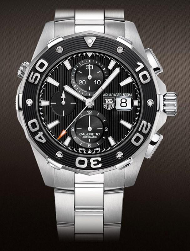 Aquaracer 500 Meters Caliber 16 Automatic Chronograph CAJ2110.BA0872