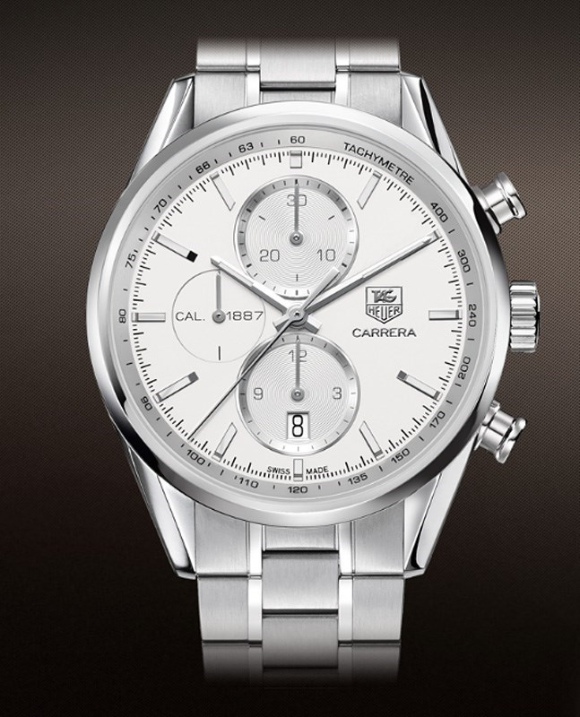 Carrera Caliber 1887 Automatic Chronograph CAR2111.BA0720