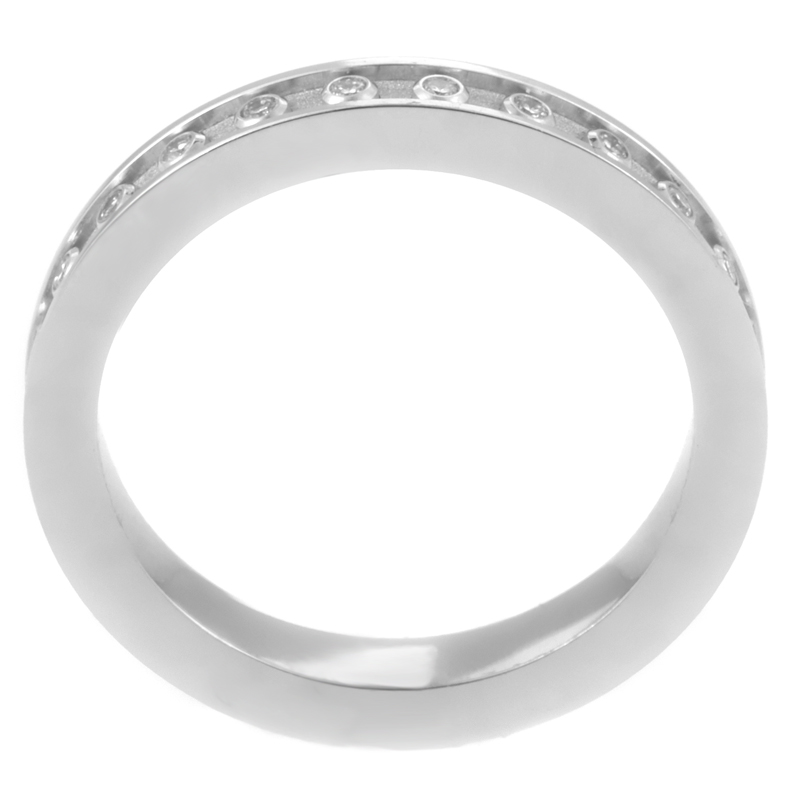 Carrera Y Carrera Mi Princesa 18K White Gold Diamond Wedding Band EBay