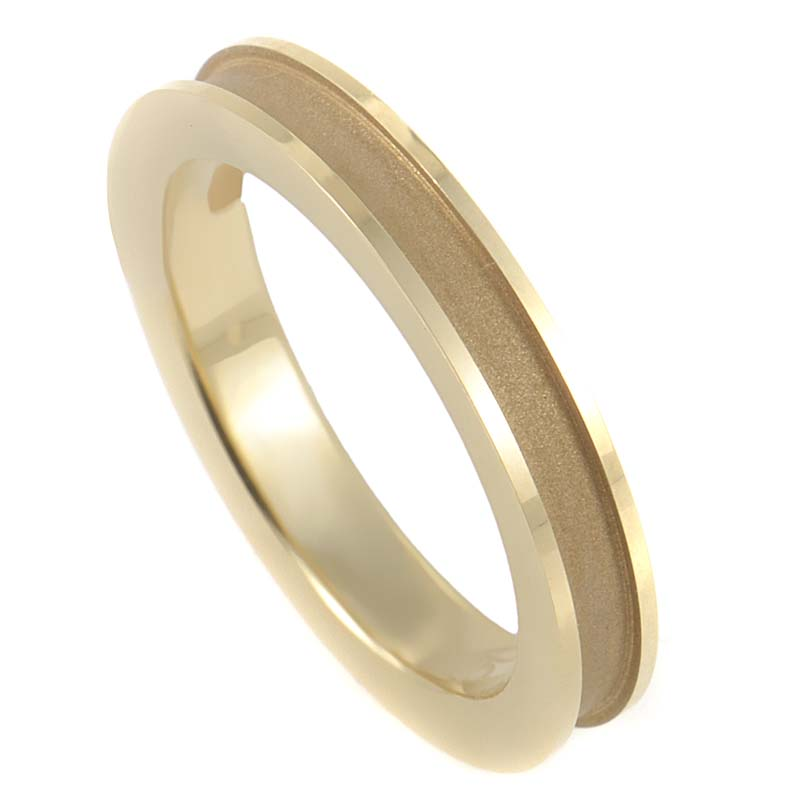 Mi Princesa 18K Yellow Gold Wedding Band DA10926-01