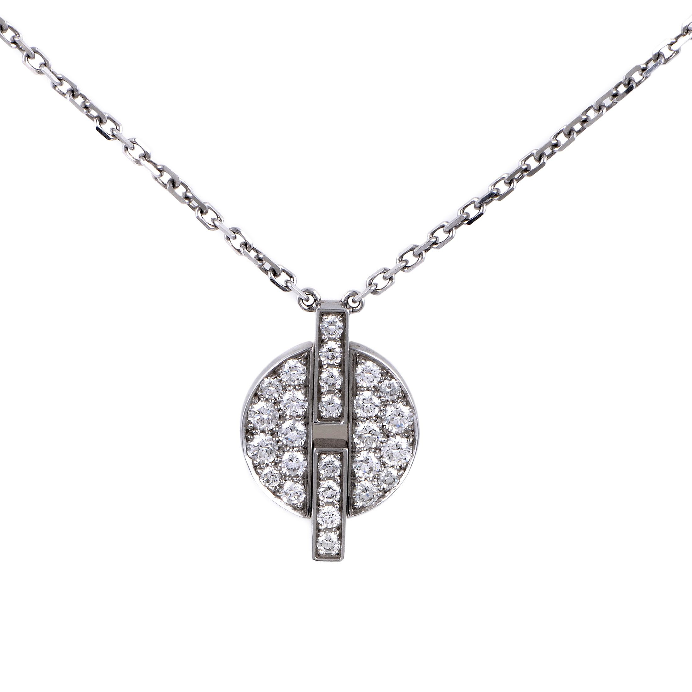 Cartier Diamond Pendant Necklace