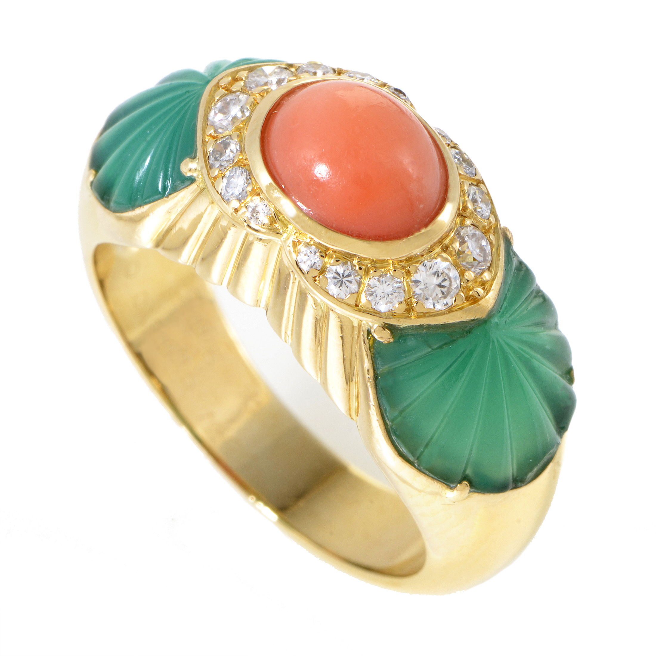 Cartier Women's 18K Yellow Gold Diamond & Gemstone Ring