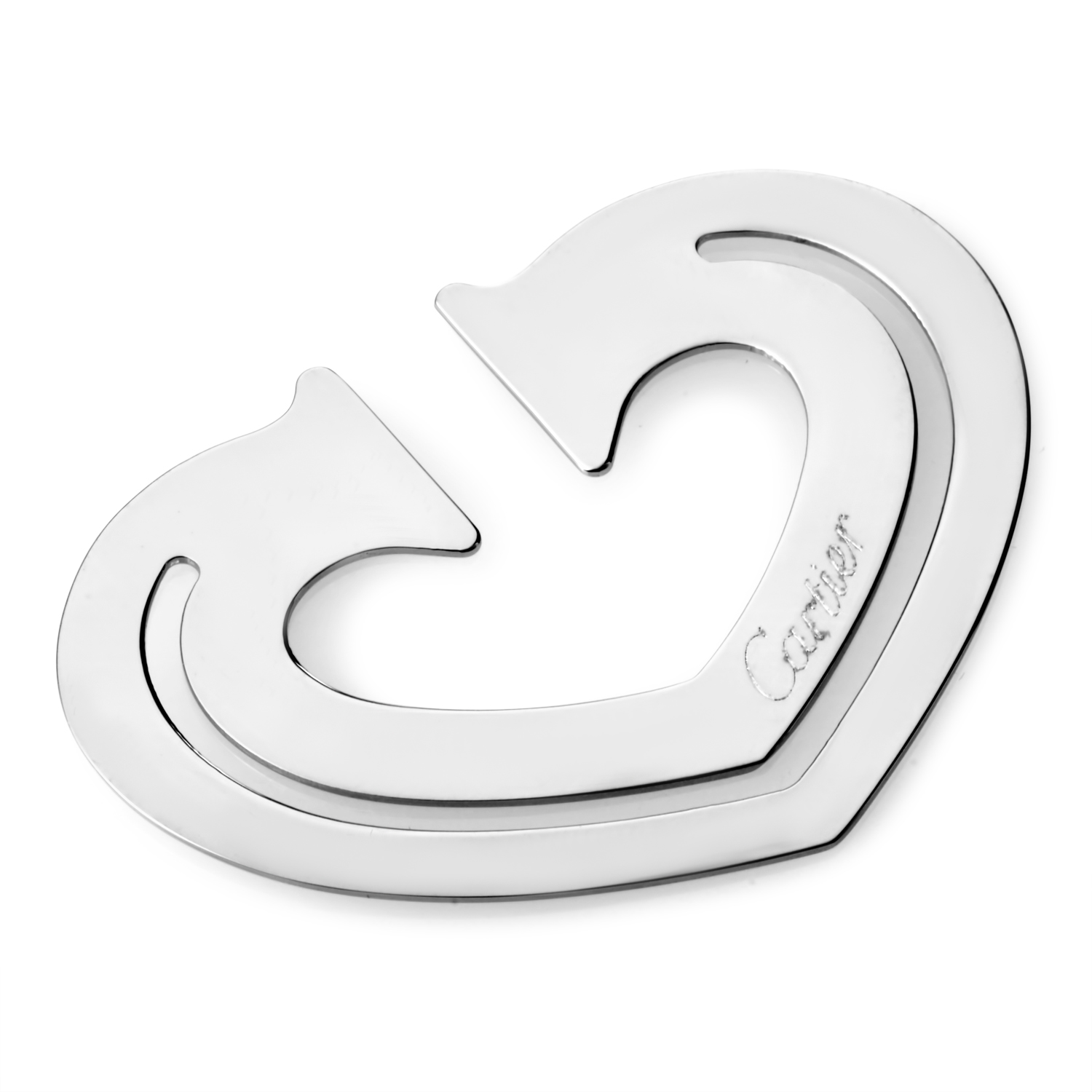 Stainless Steel Heart Bookmark T1220265