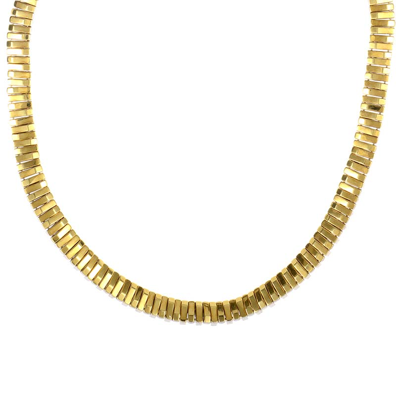 Double 18K Gold Reversible Necklace CHI81524533WYG
