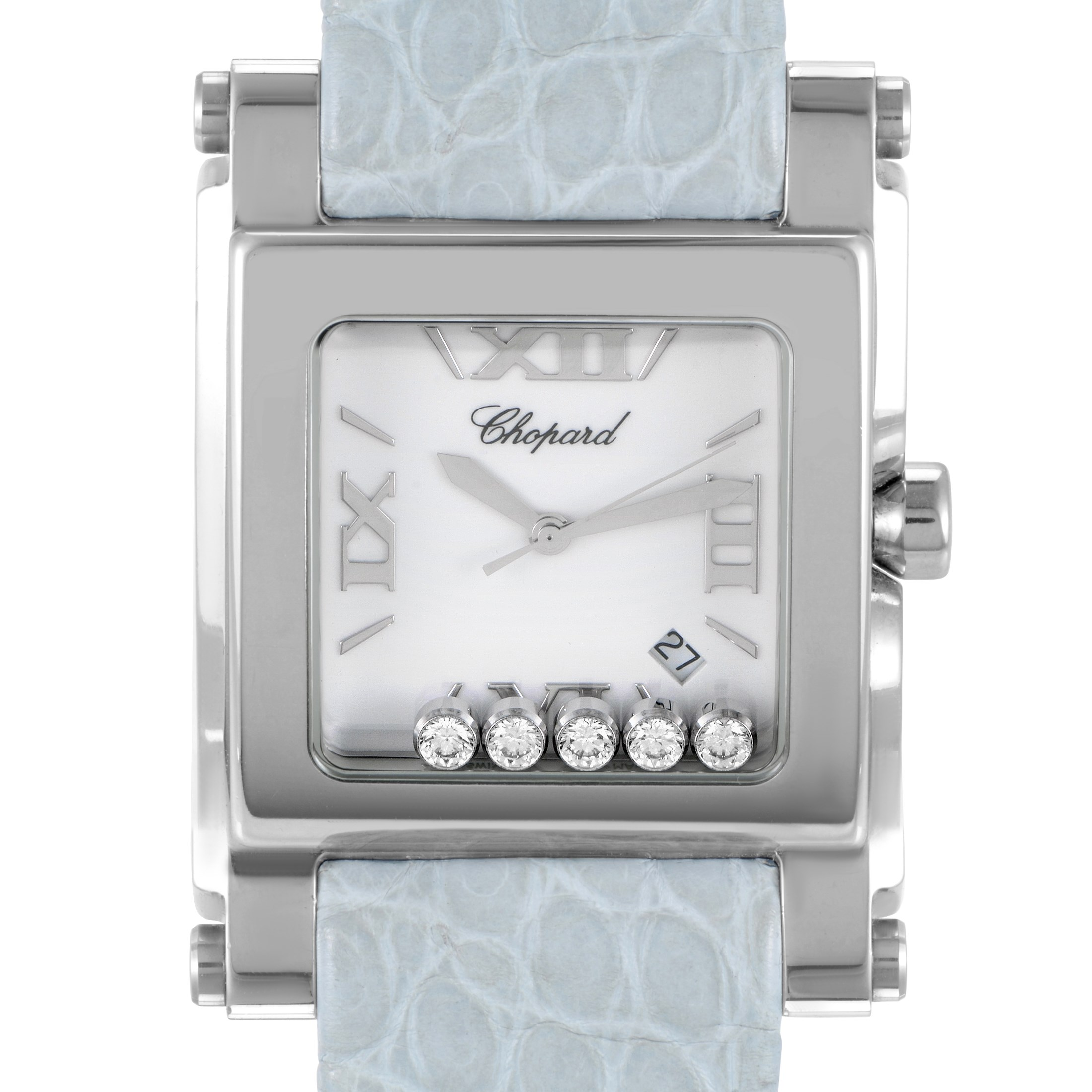 Chopard Happy Sport Square XL Women's Quartz Watch 288447-3001