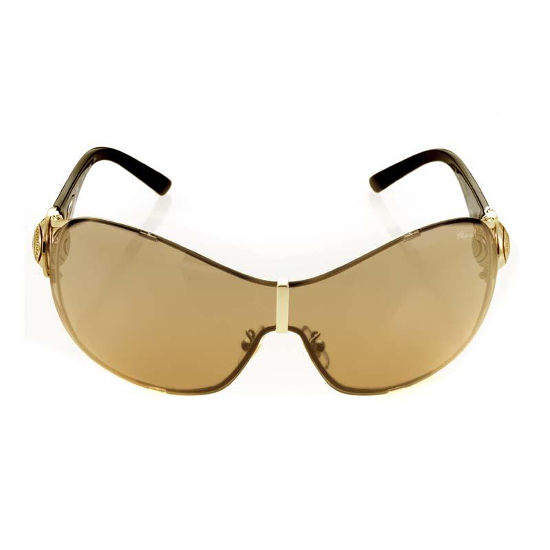 Lunettes De Soleil Rose Gold Brown Sunglasses