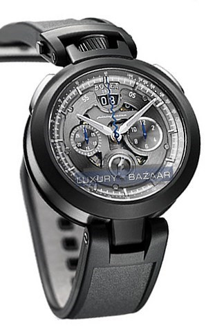 Chronograph Cambiano - 2011 Edition (SS / Anthracite / Rubber)