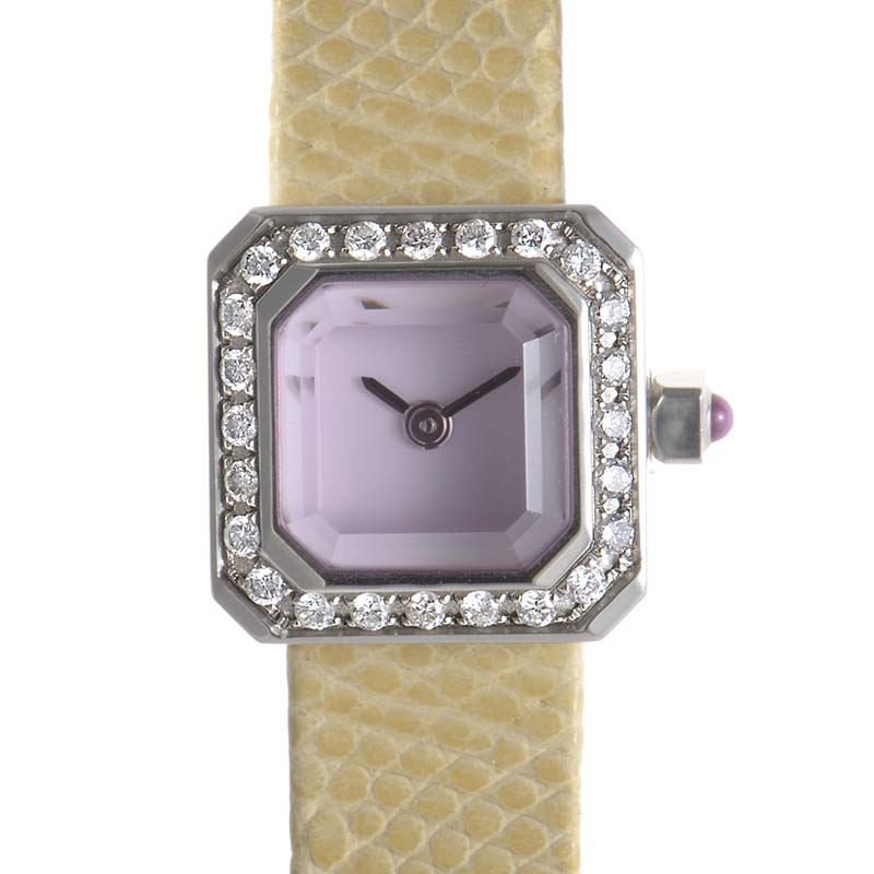 Sugar Cube Diamond Watch 137.427.47