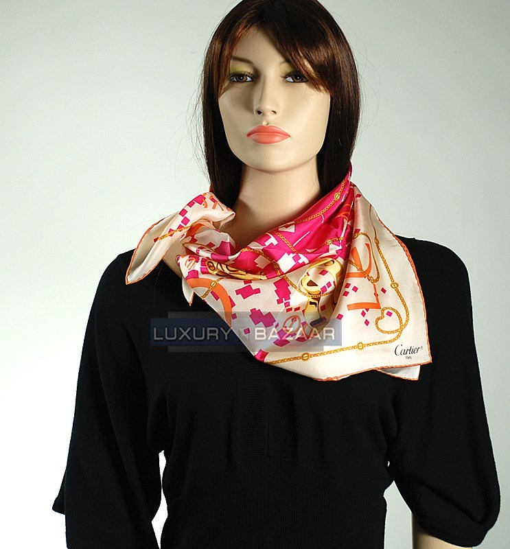 LOVE Collection Scarf Imprinted on Blush