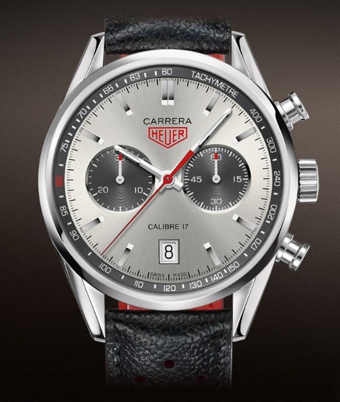 Carrera Jack Heuer Caliber 17 Automatic Chronograph CV2119.FC6310