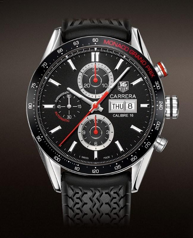 Carrera Monte Carlo Day-Date Chronograph CV2A1F.FT6033