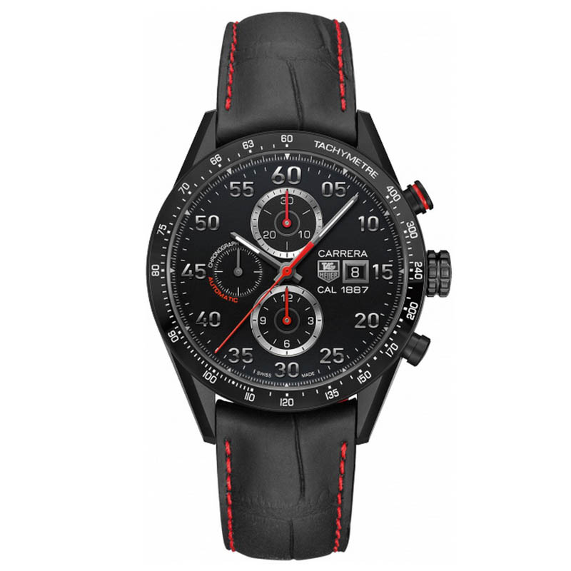 Carrera Calibre 1887 Automatic Chronograph 43 mm CAR2A80.FC6237