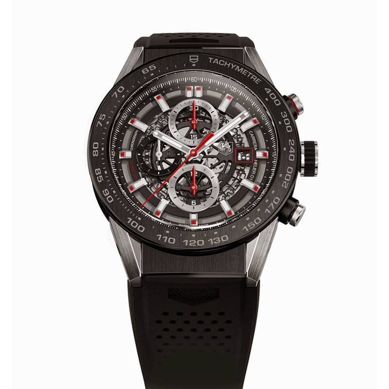 Carrera Calibre Heuer 01 CAR2A1Z.FT6044 (Stainless Steel and Titanium)