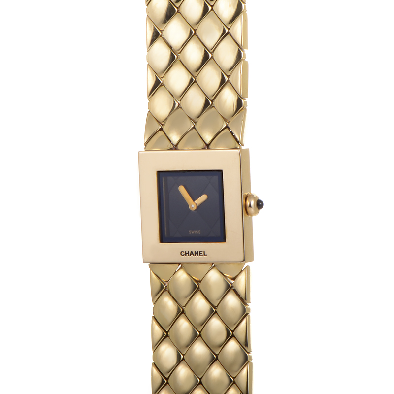 Chanel 18K Yellow Gold Quartz Ladies Wristwatch CHA01-021115
