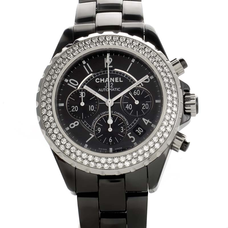 J12 Black Chronograph Automatic 41mm H1009