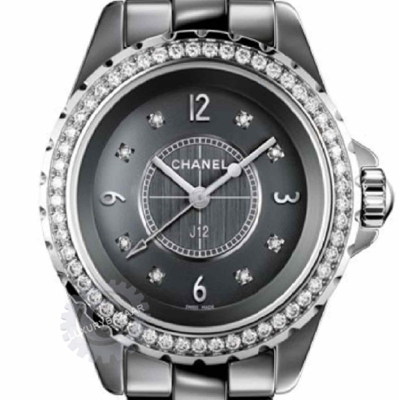 J12 Chromatic Diamond Quartz Watch H2565