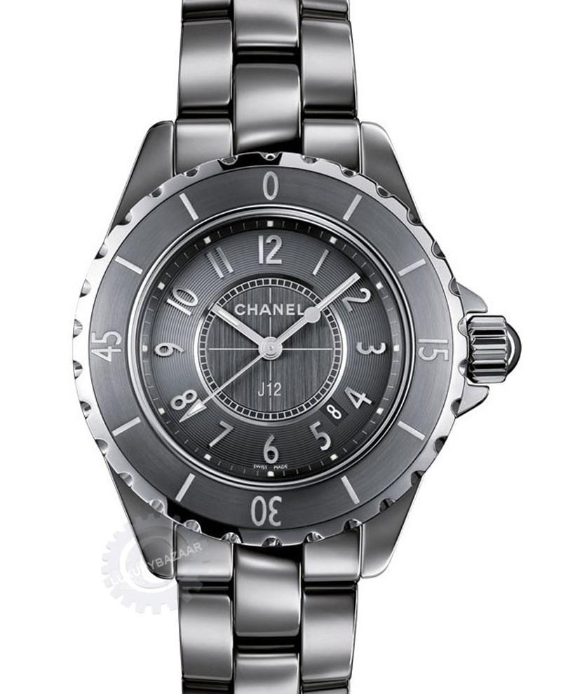 J12 Chromatic Titanium Ceramic Small Quartz Watch H2978