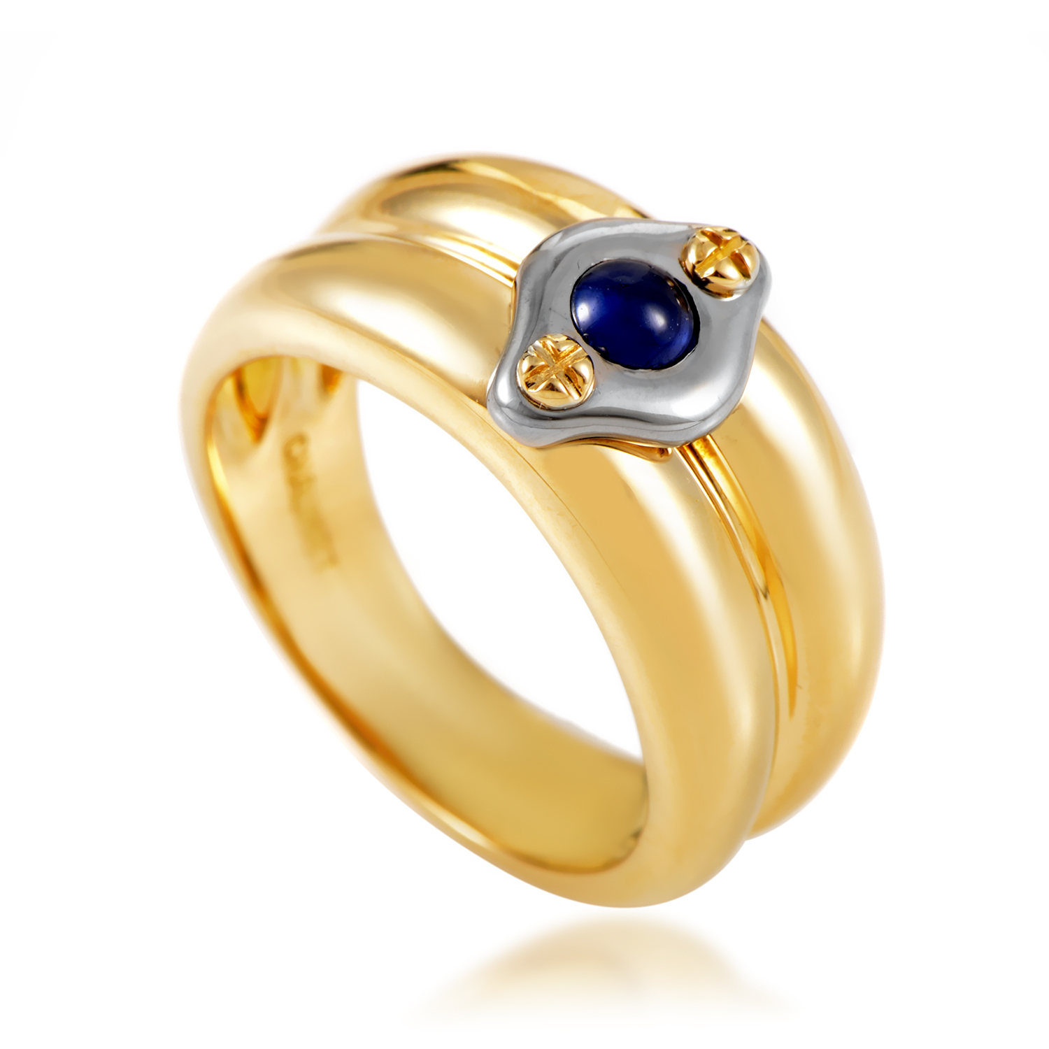 Chaumet Women's 18K Multi-Tone Gold Sapphire Band Ring