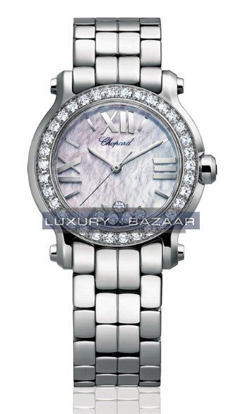 Happy Sport Mini 5 Diamonds (SS / MOP / Diamonds / Bracelet)