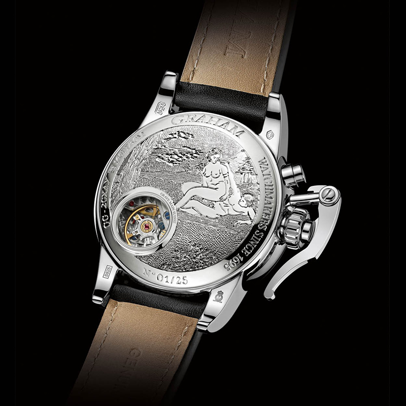 Chronofighter 1695 Erotic 2CXAY.S05B (Silver)