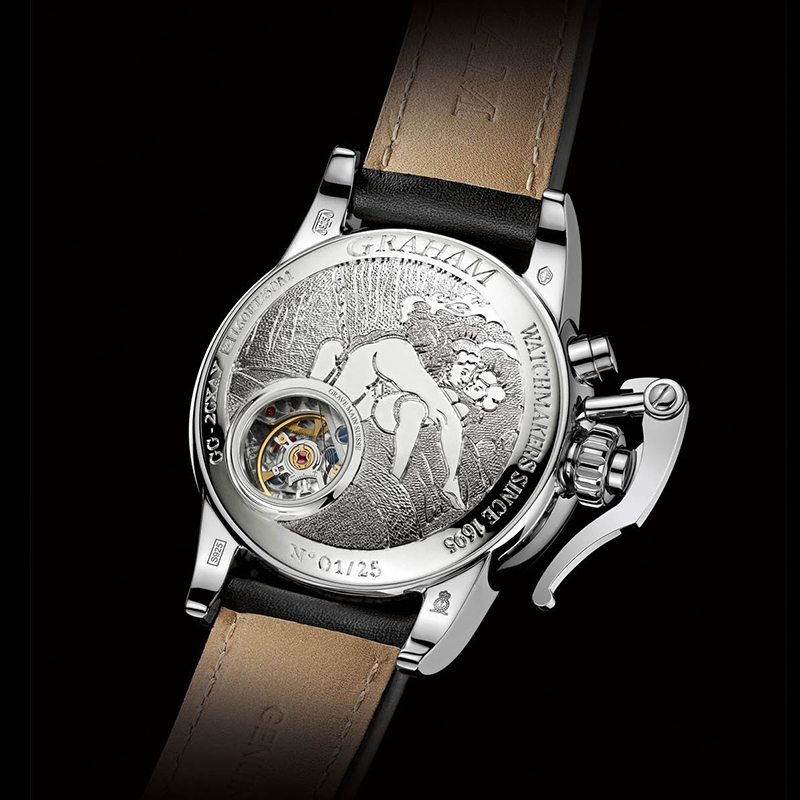 Chronofighter 1695 Erotic 2CXAY.S05C (Silver)