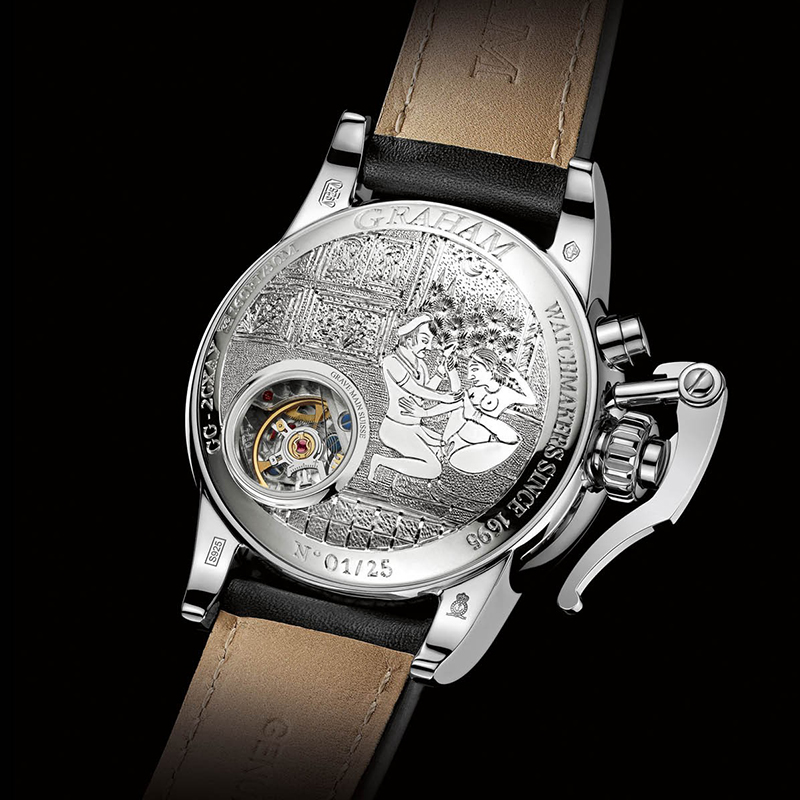 Chronofighter 1695 Erotic 2CXAY.S05D (Silver)