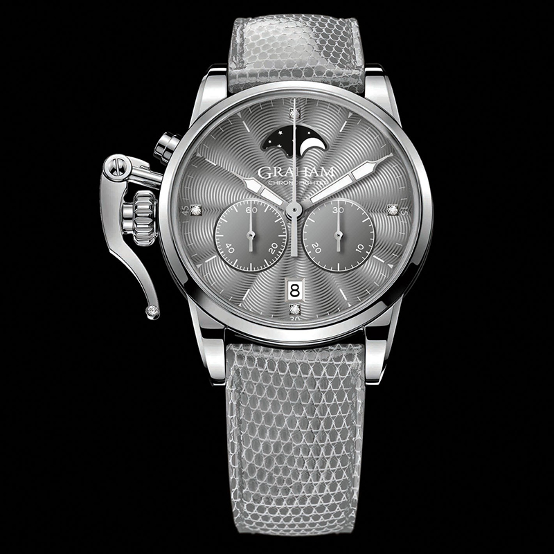Chronofighter 1695 Lady Moon 2CXBS.A02A (Stainless Steel)