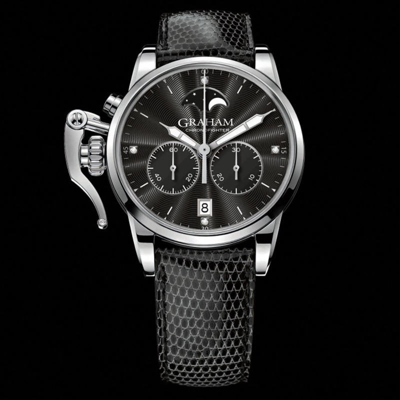 Chronofighter 1695 Lady Moon 2CXBS.B04A (Stainless Steel)