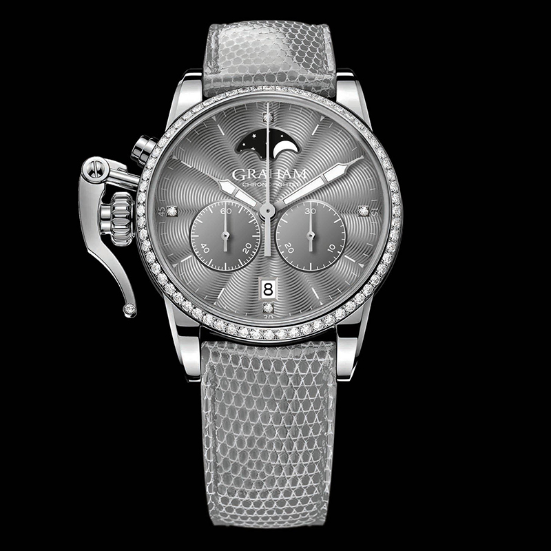 Chronofighter 1695 Lady Moon 2CXCS.A02A (Stainless Steel)