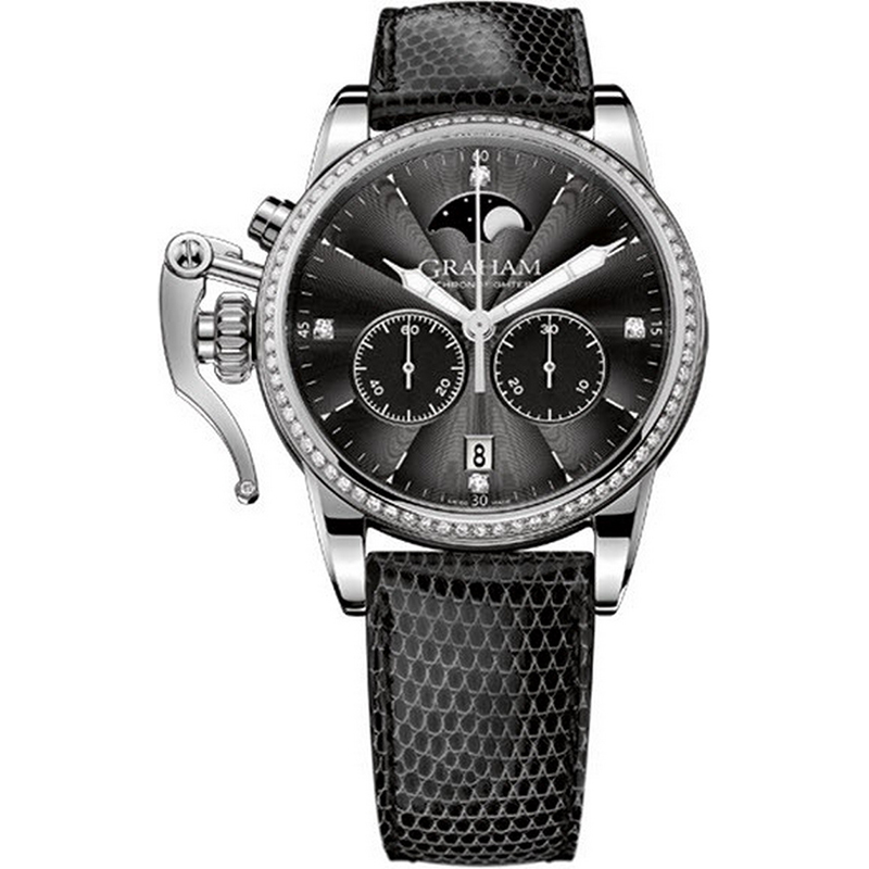 Chronofighter 1695 Lady Moon 2CXCS.B04A (Stainless Steel)