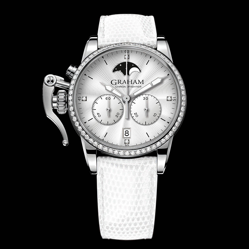 Chronofighter 1695 Lady Moon 2CXCS.S06A (Stainless Steel)