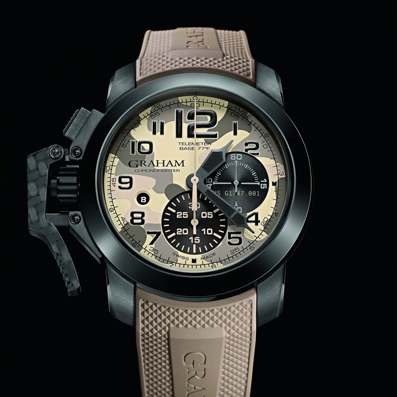 Chronofighter Oversize Black Arrow 2CCAU.E03B (Stainless Steel/PVD)
