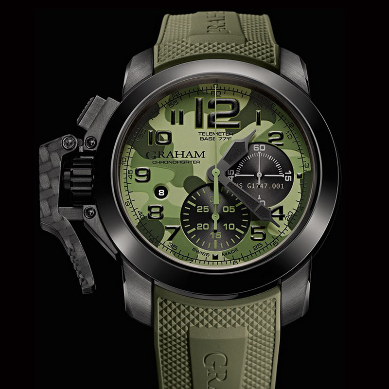 Chronofighter Oversize Black Arrow 2CCAU.G02B (Stainless Steel/PVD)