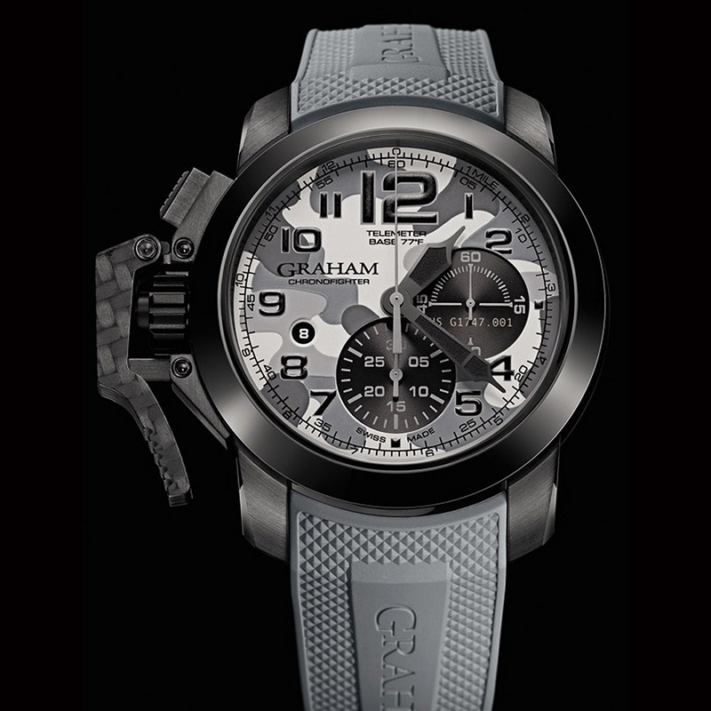 Chronofighter Oversize Black Arrow 2CCAU.S02B (Stainless Steel/PVD)