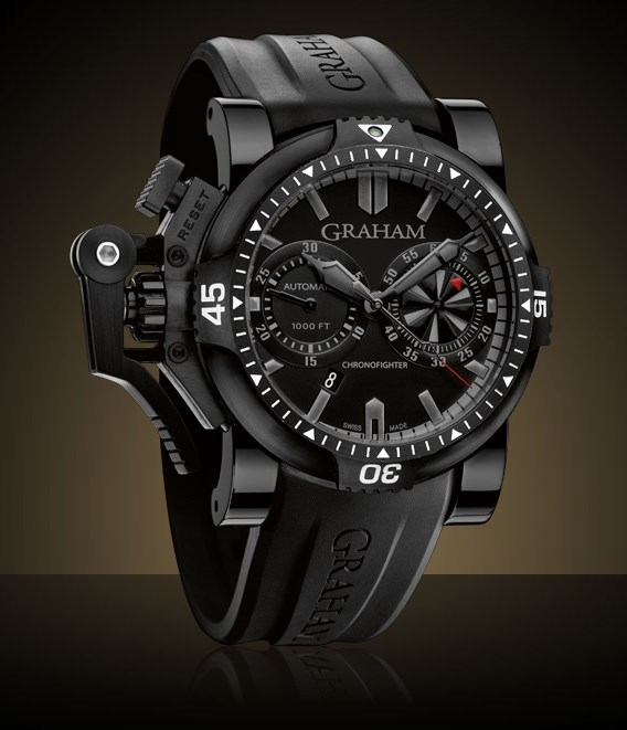 Chronofighter Oversize Diver Deep Black 2OVEB.B38A