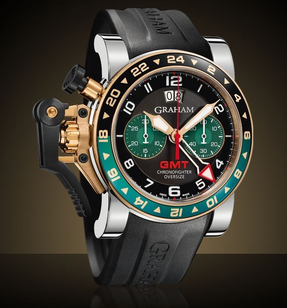 Chronofighter Oversize GMT 2OVGG.B16A.K118S