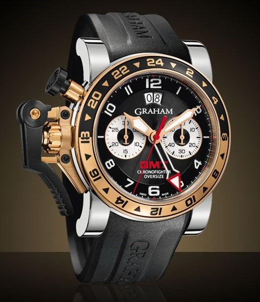 Chronofighter Oversize GMT 2OVGG.B21A