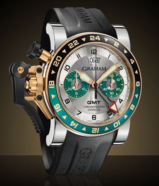 Chronofighter Oversize GMT 2OVGG.S06A