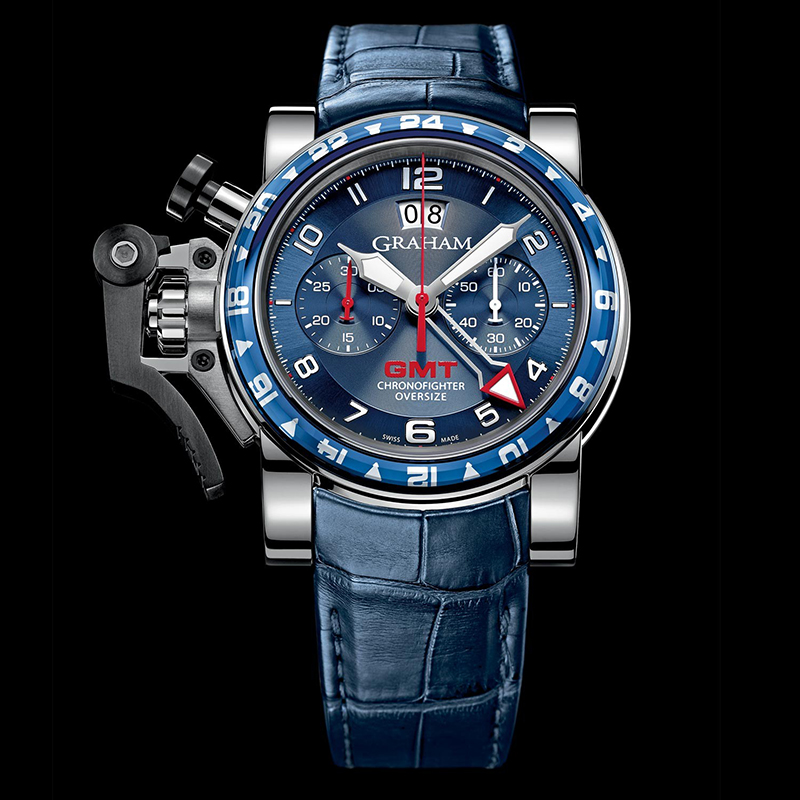 Chronofighter Oversize GMT 2OVGS.U06A (Stainless Steel)