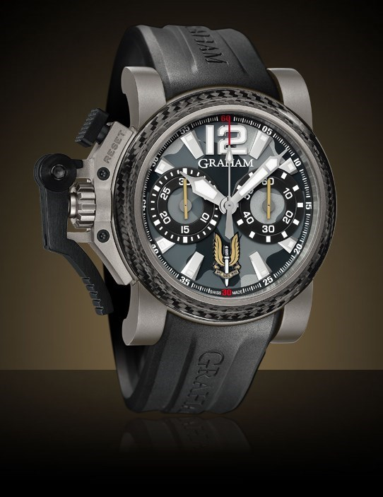 Chronofighter Oversize Night Commando SAS II 2OVJI.B25A