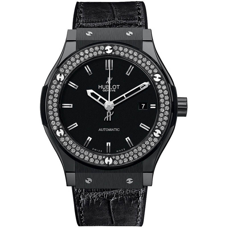 Classic Fusion Black Magic Diamonds 542.CM.1170.LR.1104 (Ceramic)
