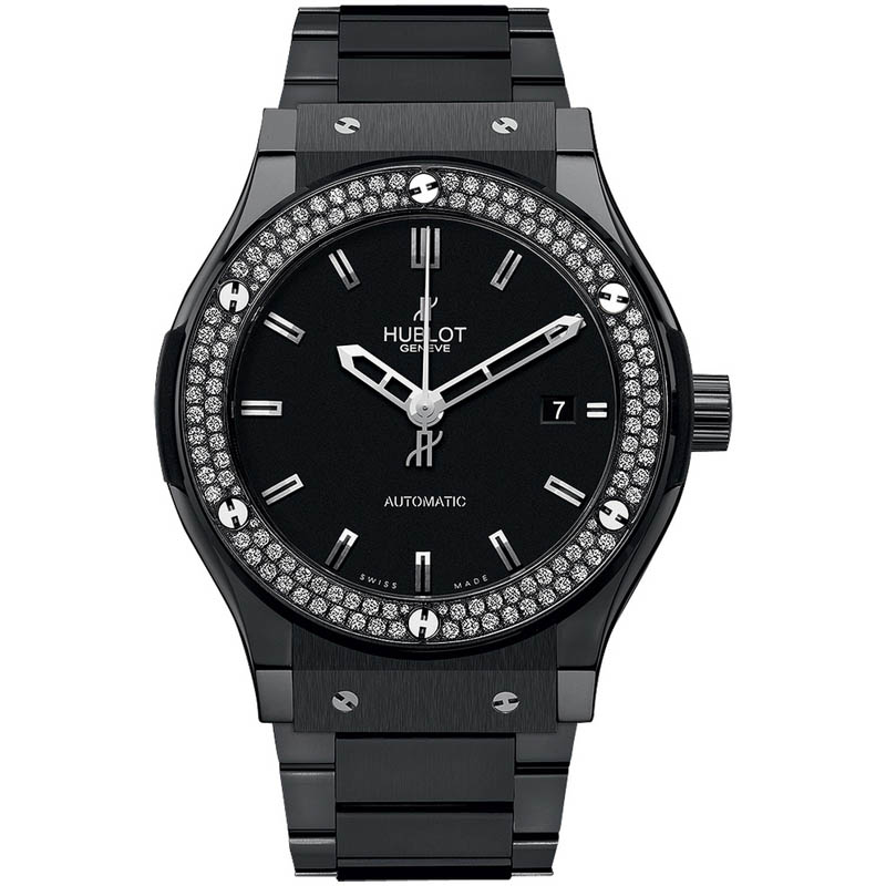 Classic Fusion Black Magic Diamonds 542.CM.1170.CM.1104 (Ceramic)