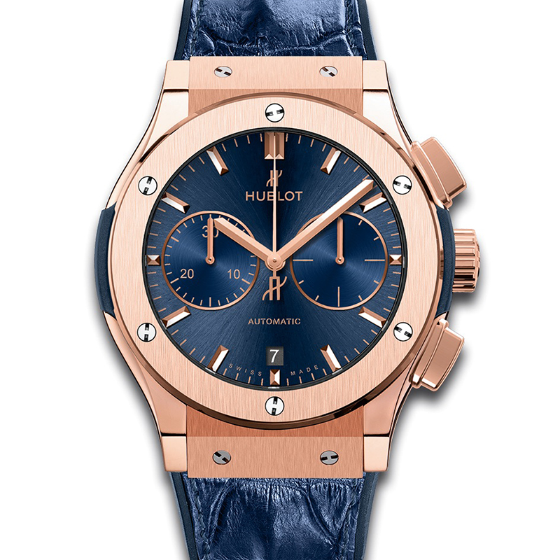 Classic Fusion Blue Chronograph King Gold 521.OX.7180.LR (King Gold)
