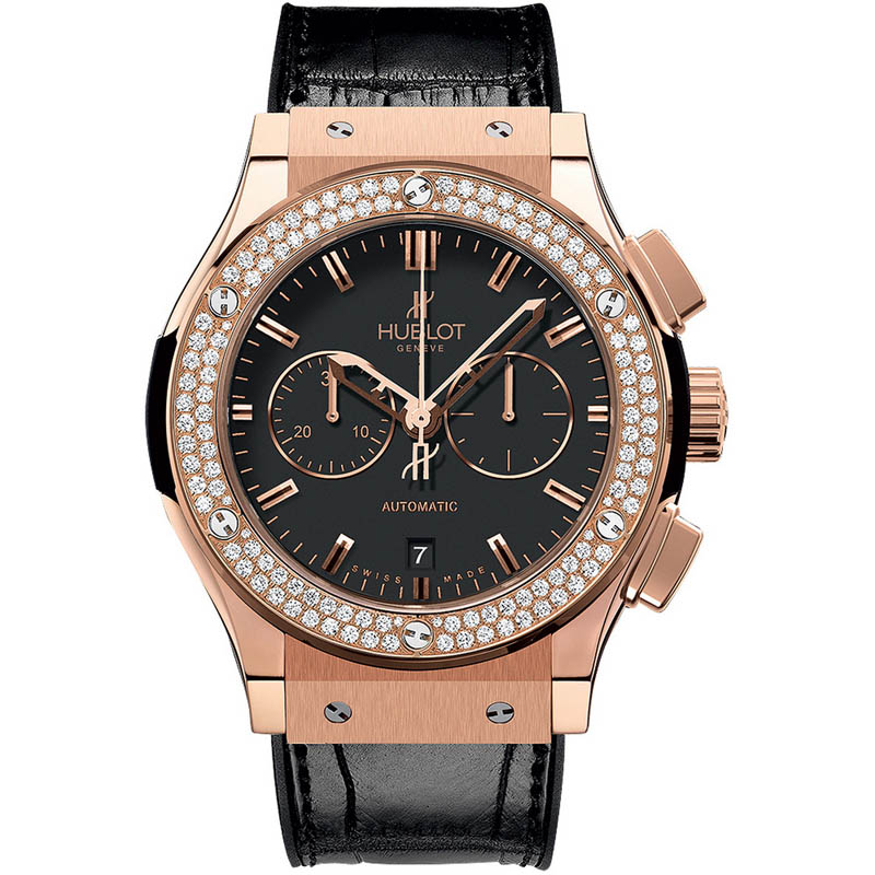 Classic Fusion Chronograph King Gold Diamonds 541.OX.1180.LR.1104 (King Gold)