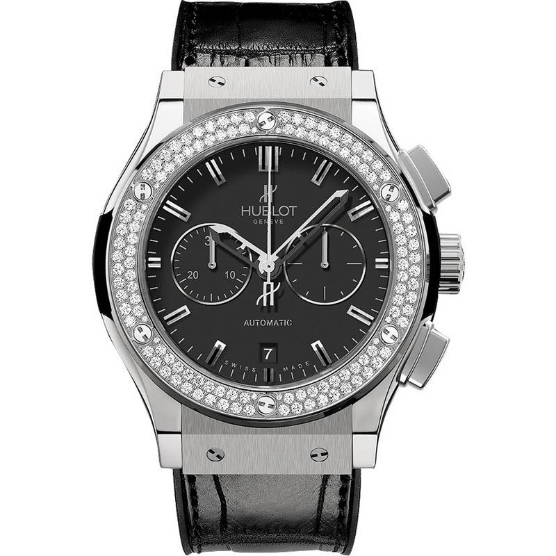 Classic Fusion Chronograph Titanium Diamonds 541.NX.1170.LR.1104 (Titanium)