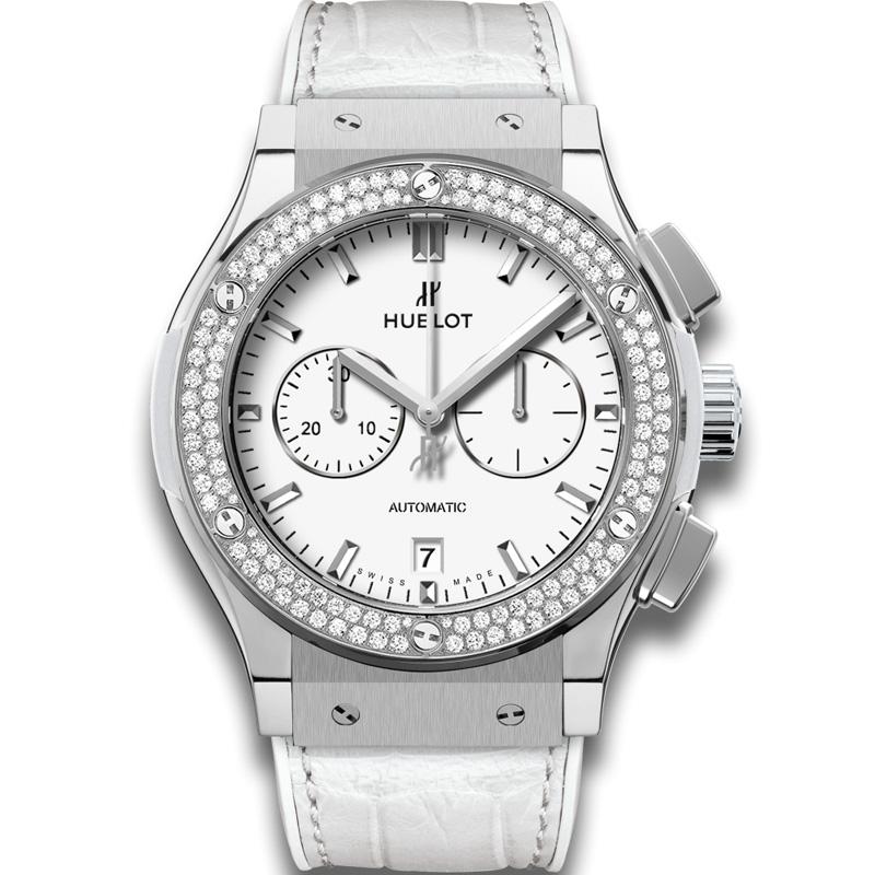 Classic Fusion Chronograph Titanium White Diamonds 541.NE.2010.LR.1104 (Titanium)