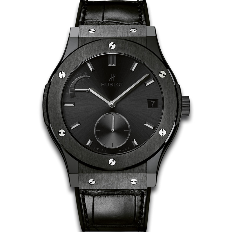 Classic Fusion Power Reserve All Black 516.CM.1440.LR (Ceramic)